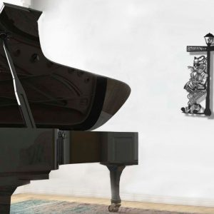 Jazz Metal Wall Sculpture