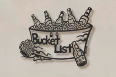 Bucket List Metal Wall Sculpture