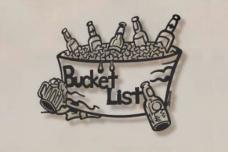 Bucket List Metal Wall Sculpture