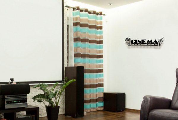 Cinema Metal Wall Sculpture