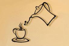 Coffee Combo metal coffee art