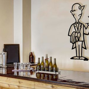 Martini Man large bar art