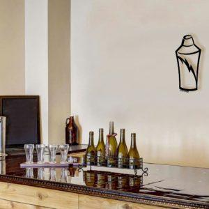 Shaker-metal-bar-art